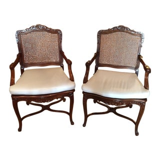20th C. French Fauteuils - Pair