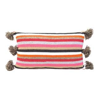 Moroccan Cotton Pom Pom Pillow