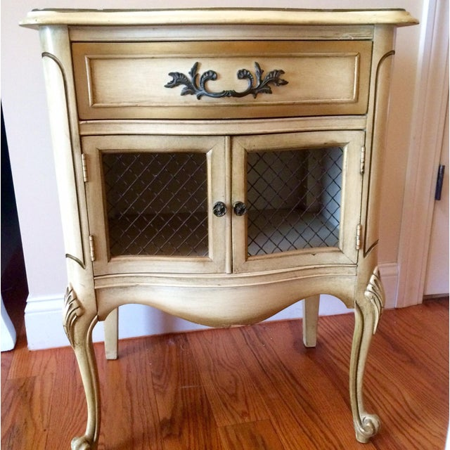 French Provincial Nightstand - Image 5 of 8