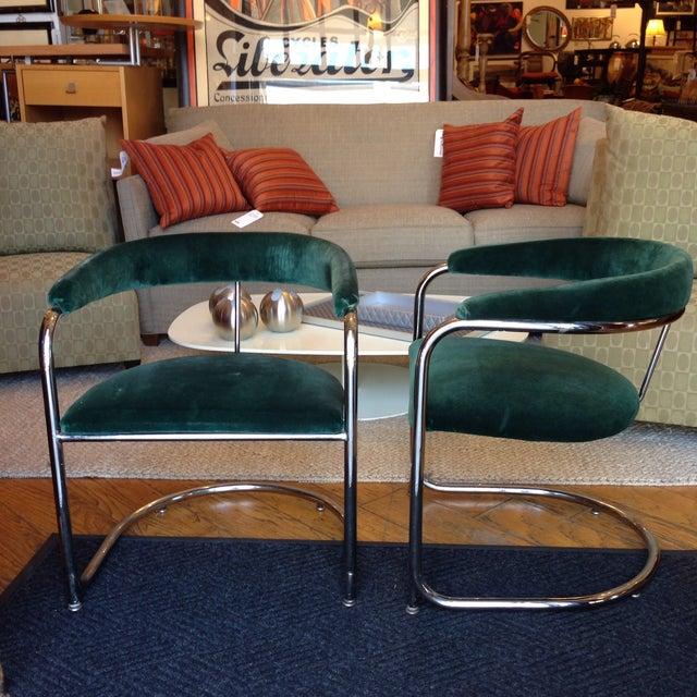 Vintage Anton Lorenz Thonet Chairs - Pair - Image 4 of 6