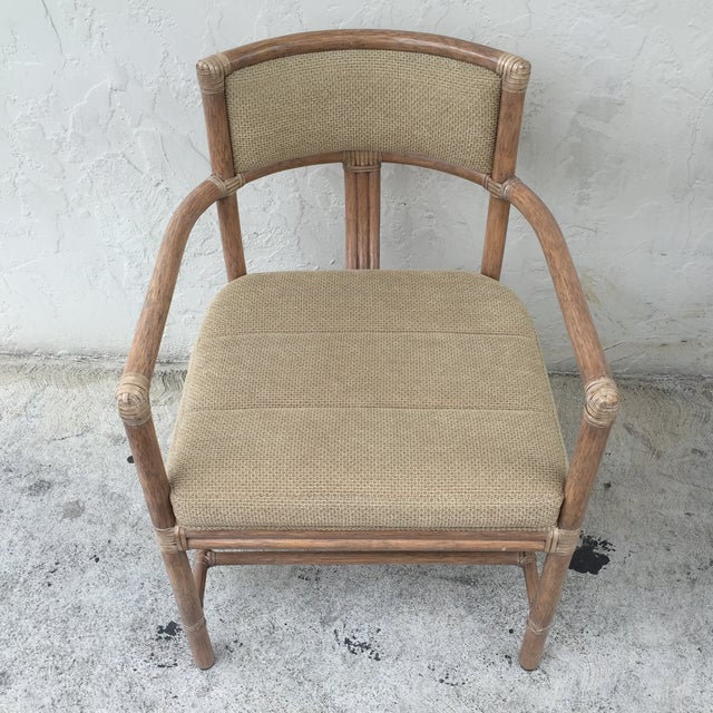 McGuire Manhattan Chairs - Set of 4 - Image 10 of 10