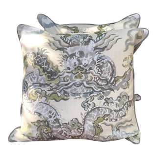 'Enter the Dragon' Pillows - A Pair