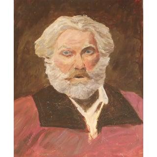 Bearded Professor Oil Portrait