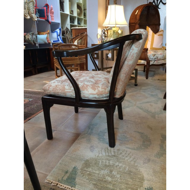 Heritage Chinoiserie Accent Chair - Image 4 of 10