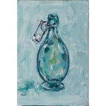 Image of Small Acrylic Hinge Jar Painting
