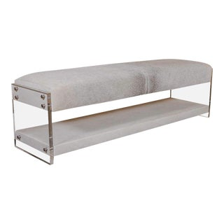 Yves Lucite Benches