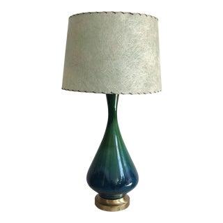 Vintage Mid-Century Modern Ceramic Table Lamp