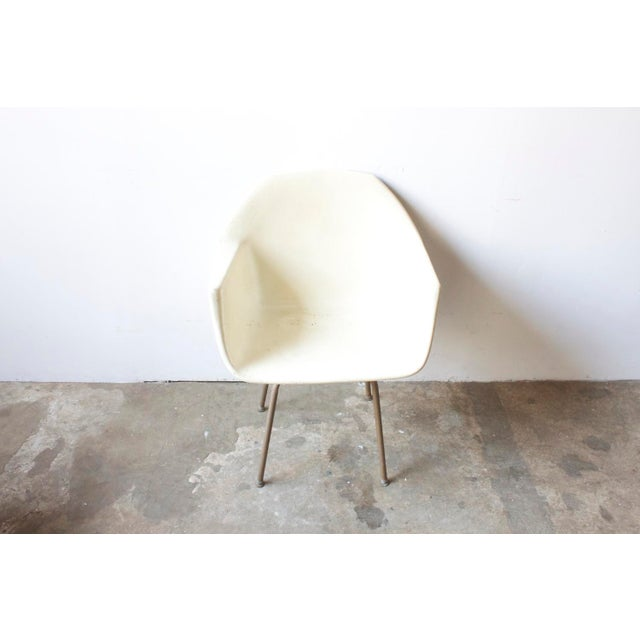 Mid-Century American White Chair - Image 4 of 5