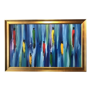 Modern Original Framed Painting