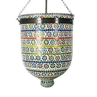 Mosaic Bucket Lantern