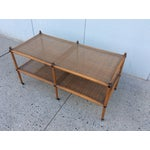 Image of 1960's Hollywood Regency Two Tiered Console