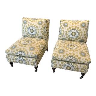 Mitchell Gold & Bob Williams Zondra Chairs - A Pair