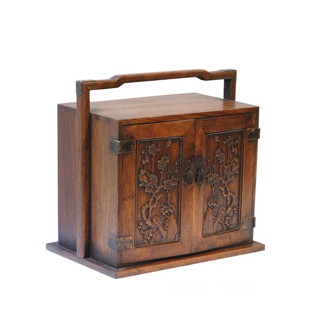 Chinese Rosewood Jewelry Box - Image 2 of 6