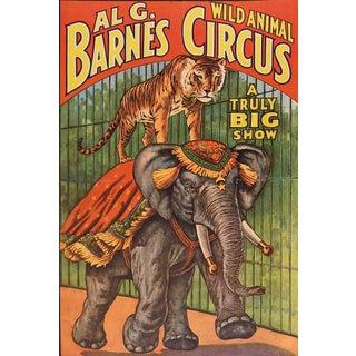 Al G. Barnes Circus Poster, 1960