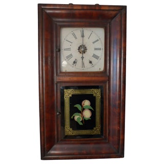Antique American 8-Day Clock