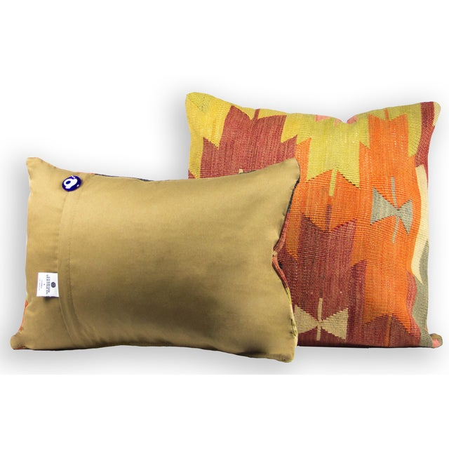 Square Kilim Pillow - Single - Image 3 of 3