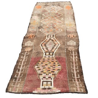 Turkish Anatolian Rug - 3′4″ × 8′10″