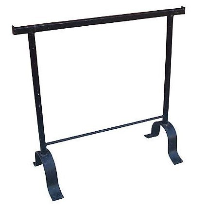 Primitive Rustic Iron Blanket or Quilt Rack - Image 1 of 3