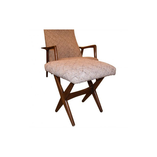 Folke Ohlsson Mid-Century Chair & Ottoman - Image 7 of 7