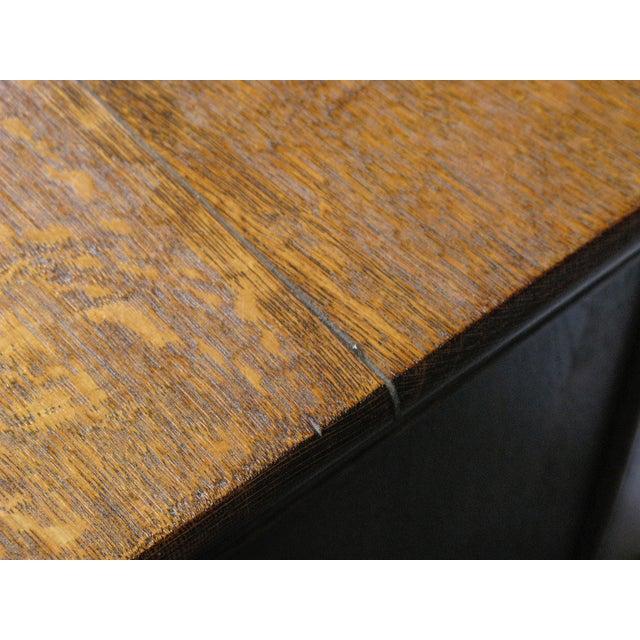 Oak Twist Leg Sideboard - Image 7 of 8