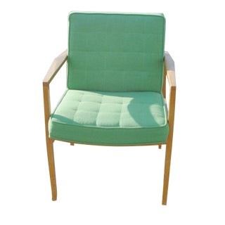 Knoll Vincent Cafiero Green Lounge Chair