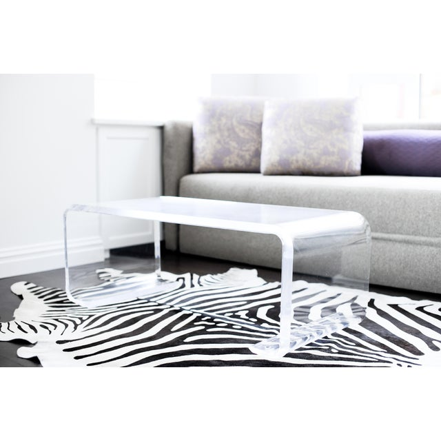 Plexi-Craft Waterfall Coffee Table - Image 3 of 5
