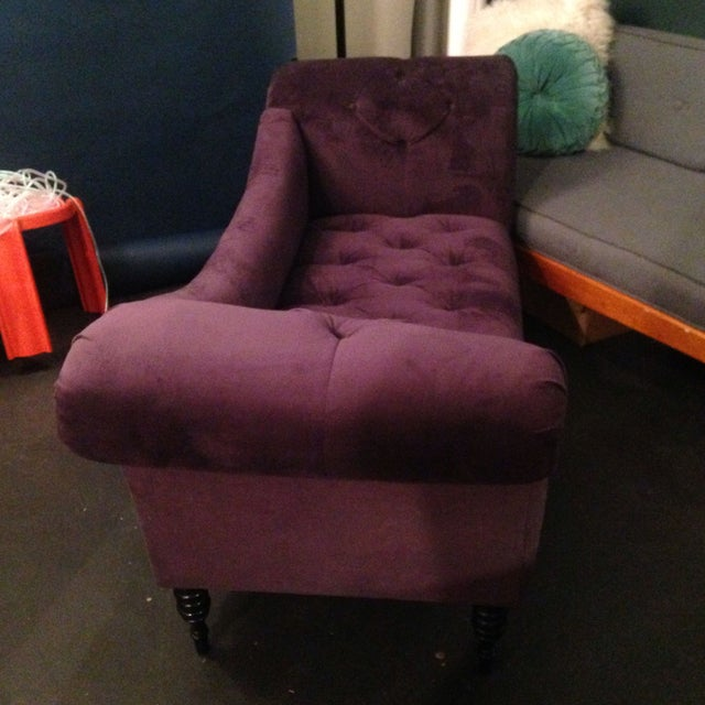 Purple Chaise Lounge - Image 3 of 7