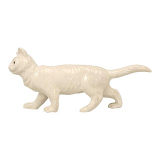 French Pottery Cat