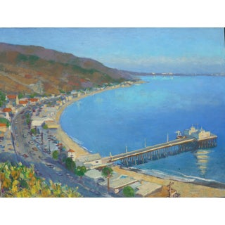 """Malibu Pier, California"" Painting"