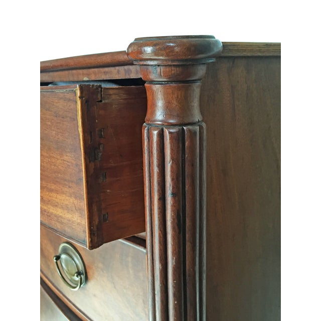 1820 Sheraton Bow-Front Chest of Drawers - Image 5 of 7