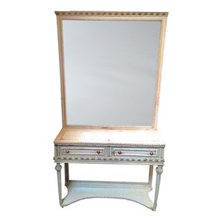 Antique Mirrored Vanity