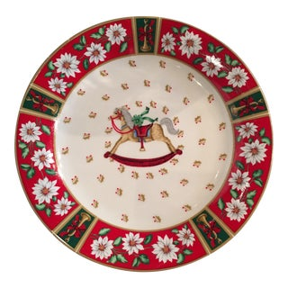 Christmas Motif Dessert Plates - Set of 8