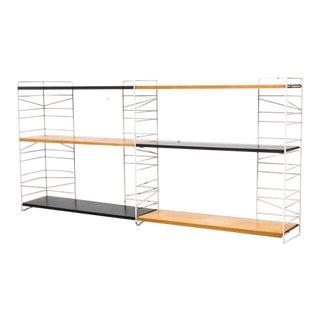 Rare Sonja Swedish Standing Wire Bookshelf Unit