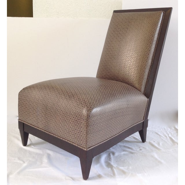 Donghia Panama Occasional Chairs - A Pair - Image 5 of 11