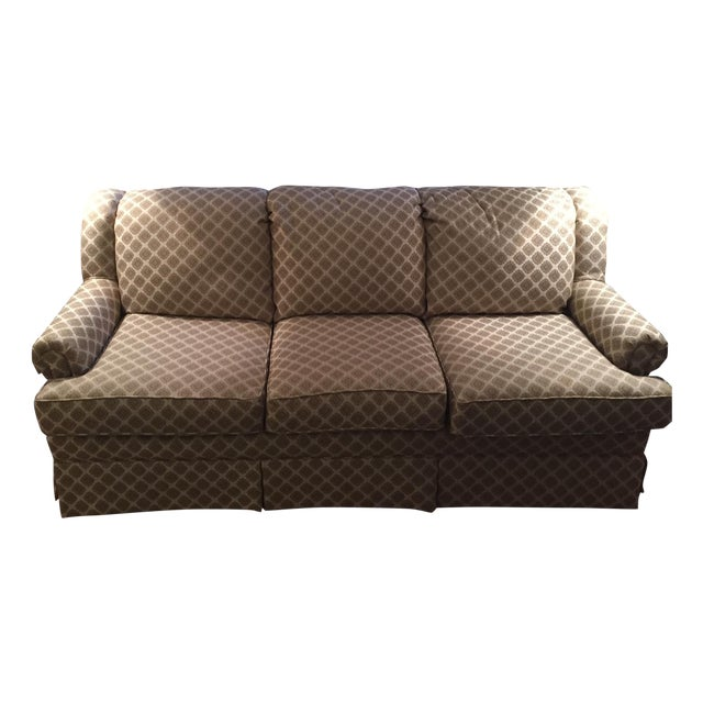 Custom designed couch by england furniture chairish for Custom made sofas uk