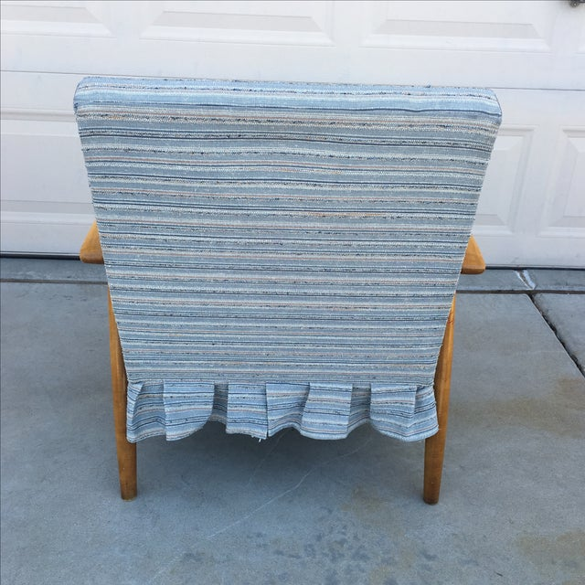 Mid Century Modern Danish Style Lounge Chair - Image 4 of 6