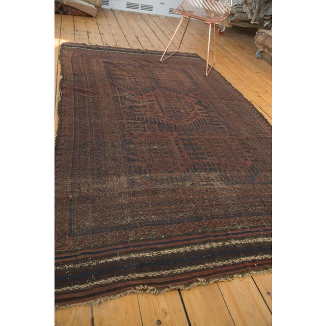 "Vintage Belouch Carpet - 4'8"" x 8'3"" - Image 2 of 9"