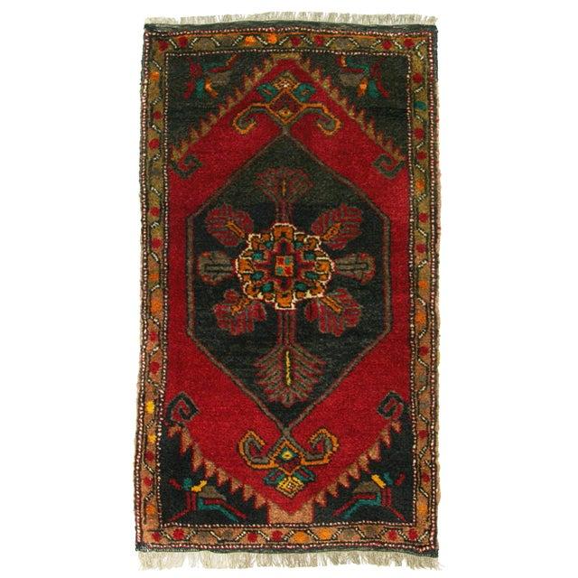 "Vintage Kurdish Carpet - 1'11"" X 3'4"" - Image 1 of 2"