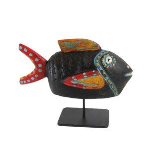 Bozo Mali Wood Fish