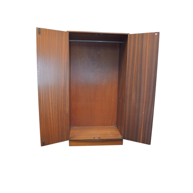 G Plan Mid Century Fresco Teak Wardrobe Armoire - Image 3 of 6