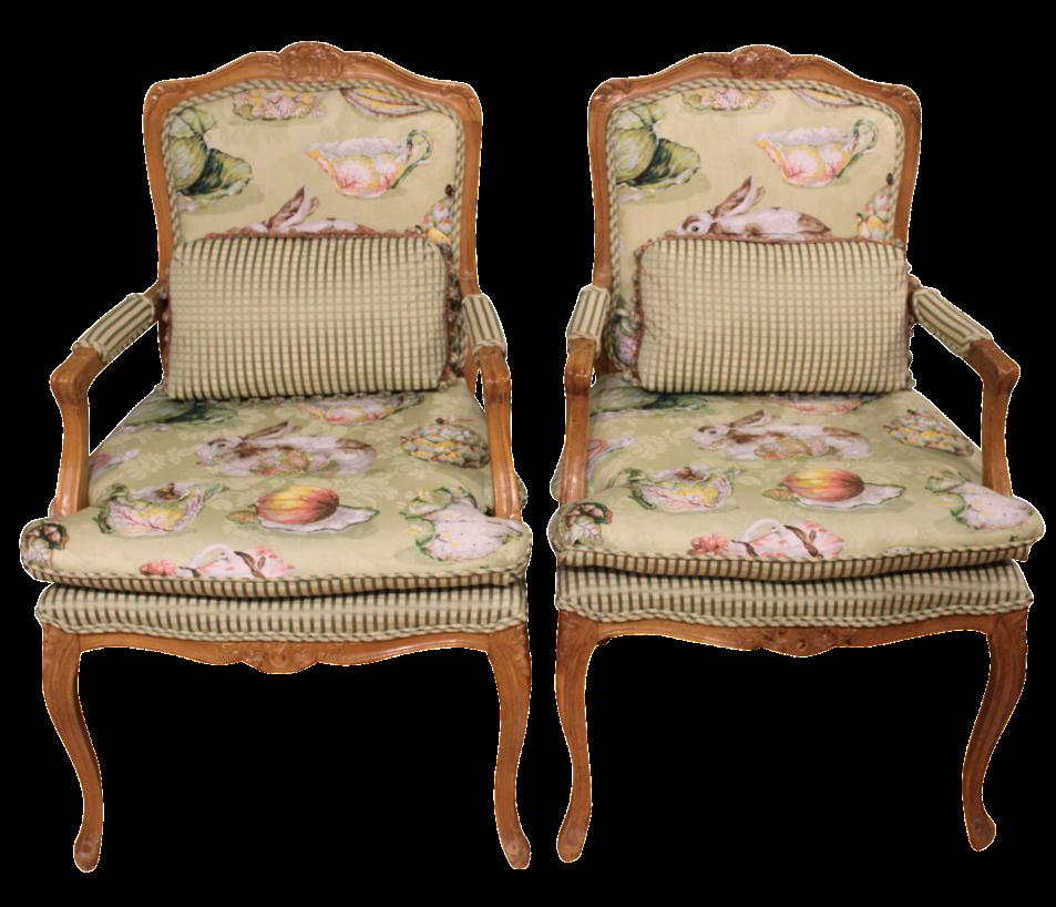 Waldorf Astoria Arm Chairs   A Pair