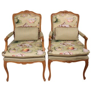 Waldorf Astoria Arm Chairs - A Pair