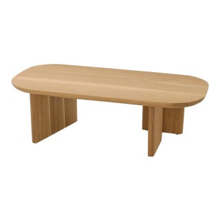 Waxed White Oak Classon Table