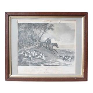 John Shirley Huntsman to the Burton Hunt Print by R. B. Davies