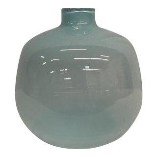 Pale Blue Glass Vase