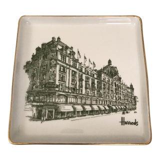 Harrods Copenhagen Porcelain Square Tray
