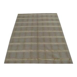 Nepalese Wool & Silk Tibetan Rug - 6' X 9'