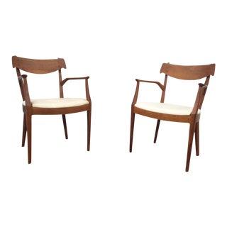 Mid-Century Kipp Stewart for Drexel Chairs - A Pair
