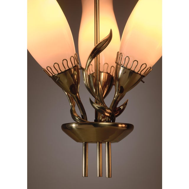 Paavo Tynell Model 51122 pendant for Idman, Finland, 1950s - Image 5 of 6