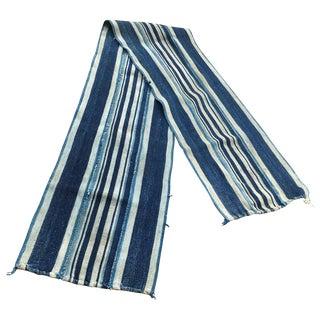 Vintage Linen Indigo Table Runner